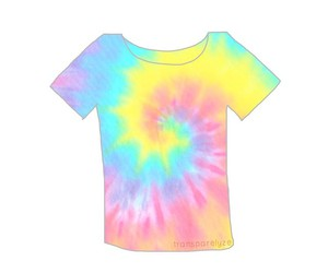 overlay, tie dye, and hipster image