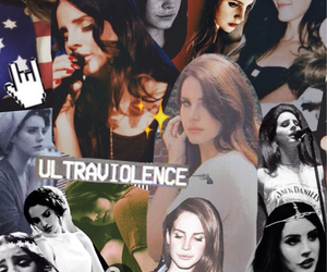Collage, Queen, and ultraviolence image