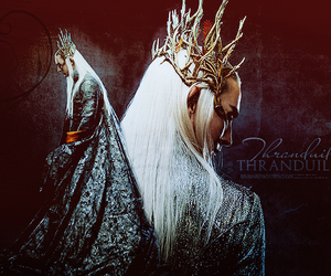 elven, lee pace, and the hobbit image
