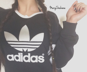 adidas, black, and brands image