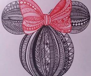 doodle art mini_mouse image
