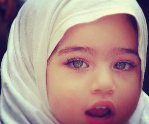 islam, hijab, and baby image