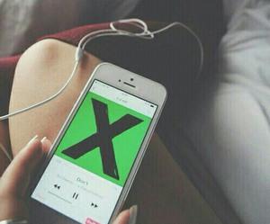 ed sheeran, music, and x image