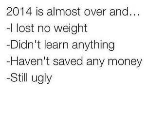 2014, ugly, and new year image