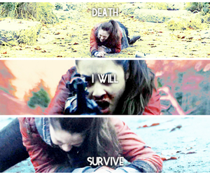 raven, the 100, and raven reyes image