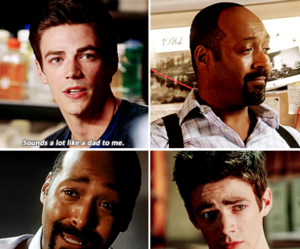 flash, the flash, and barry allen image