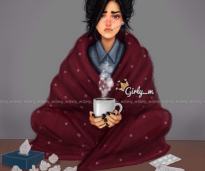 girly_m, sick, and cold image