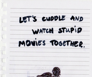 love, quotes, and cuddle image