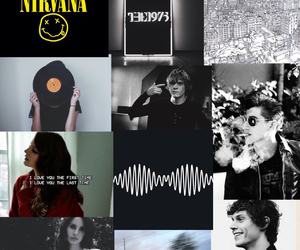 nirvana, evan peters, and the 1975 image