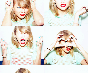 photoshoot, Taylor Swift, and red lip classic thing image