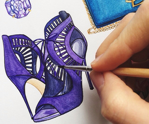 drawing, shoes, and doll-memories image