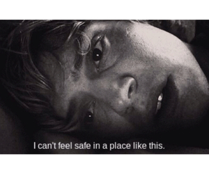 black and white, quote, and evan peters image