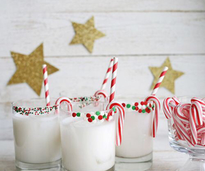 beauty, candy, and candy cane image