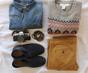 outfit, style, and hipster image