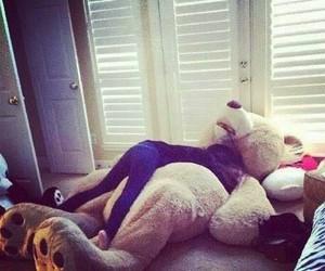 bear, teddy bear, and hug image