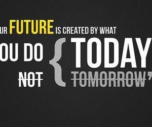 future, now, and today image
