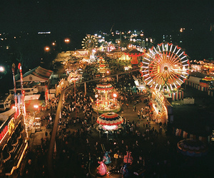 carnival, love, and lights image
