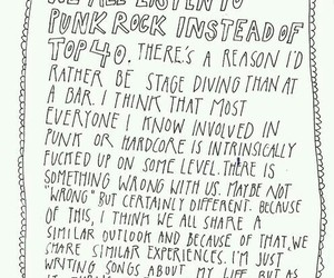 quote, music, and punk rock image