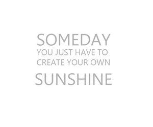sunshine, quote, and text image
