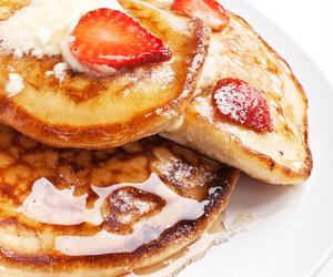 food, jam, and pancake image