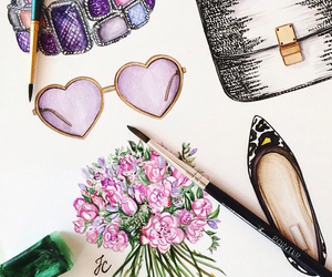 accessories, drawing, and doll-memories image