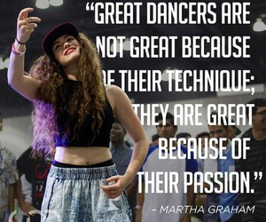 dance, dancer, and Martha Graham image