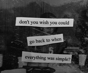 quotes, simple, and wish image