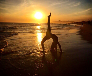 awesome, ballerina, and beach image
