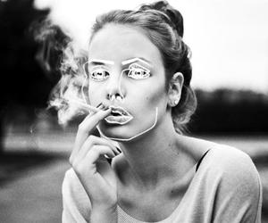 girl, smoke, and disclosure image
