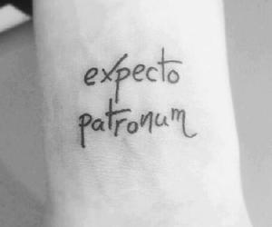harry potter, tattoo, and expecto patronum image