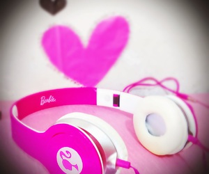 barbie, music, and pink image