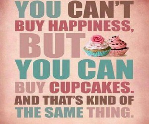cupcake, food, and quote image