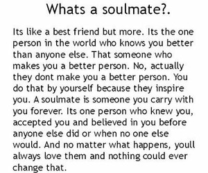 soulmate, love, and quotes image