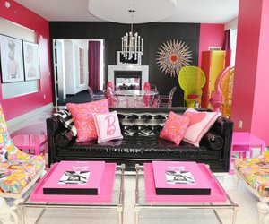 barbie, pink, and room image