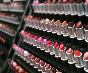lipstick, mac, and make up image