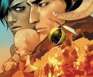 comic book, graphic novel, and hazel image
