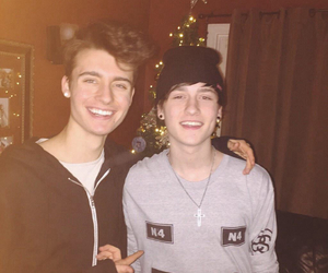 crawford collins, chris collins, and boy image