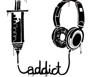 music and addict image