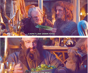funny, food, and hobbit image