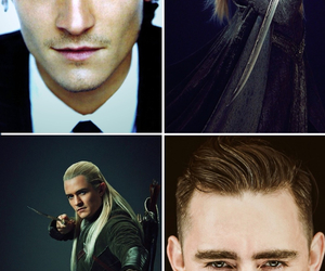 lee pace, Legolas, and orlando bloom image