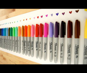 colorful, colors, and sharpies image