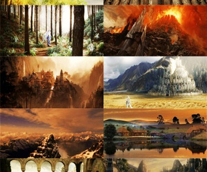 LOTR, the lord of the rings, and le seigneur des anneaux image