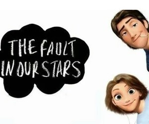 tangled, eugene and rapunzel, and the fault in our stars image