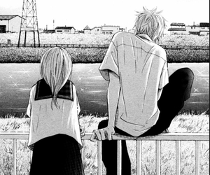 manga, bokura ga ita, and black and white image