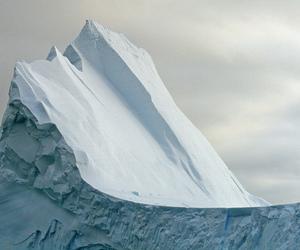 iceberg, photography, and nature image