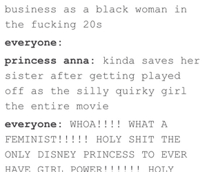anna, disney, and truth image