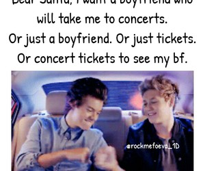 concert tickets, directioners, and Harry Styles image
