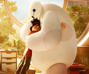 big hero 6, baymax, and disney image
