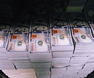 bills, money, and vintage image