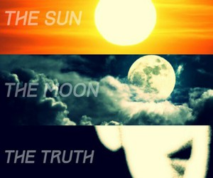 full moon, scott mccall, and stiles stilinski image
